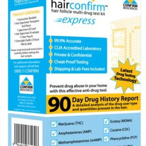 Hair Confirm At-Home Hair Drug Test Kit